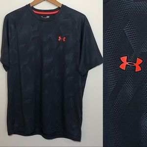 Under Armour Loose Heatgear Patterned Athletic Tee